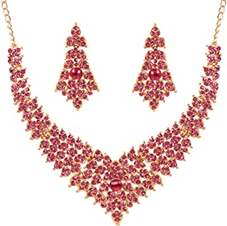 NEW! Touchstone Indian Bollywood Tinsel Town Traditional Western Taste Studded Diamond Look Faux Tourmaline Designer Brida...