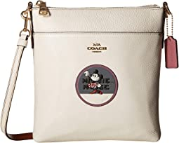Minnie Mouse Messenger Crossbody With Patches ©Disney x COACH