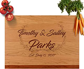 Best wood cutting board monogram Reviews