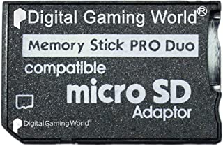 Digital Gaming World Micro SD To Pro Duo Adapter Converter For PSP 1000/2000/3000 and E-1000, E-1004 Series
