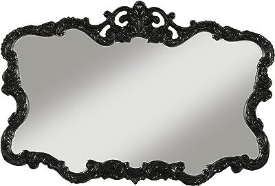 Amazon.com: Espejo creativo entrada, la puerta de hierro ...