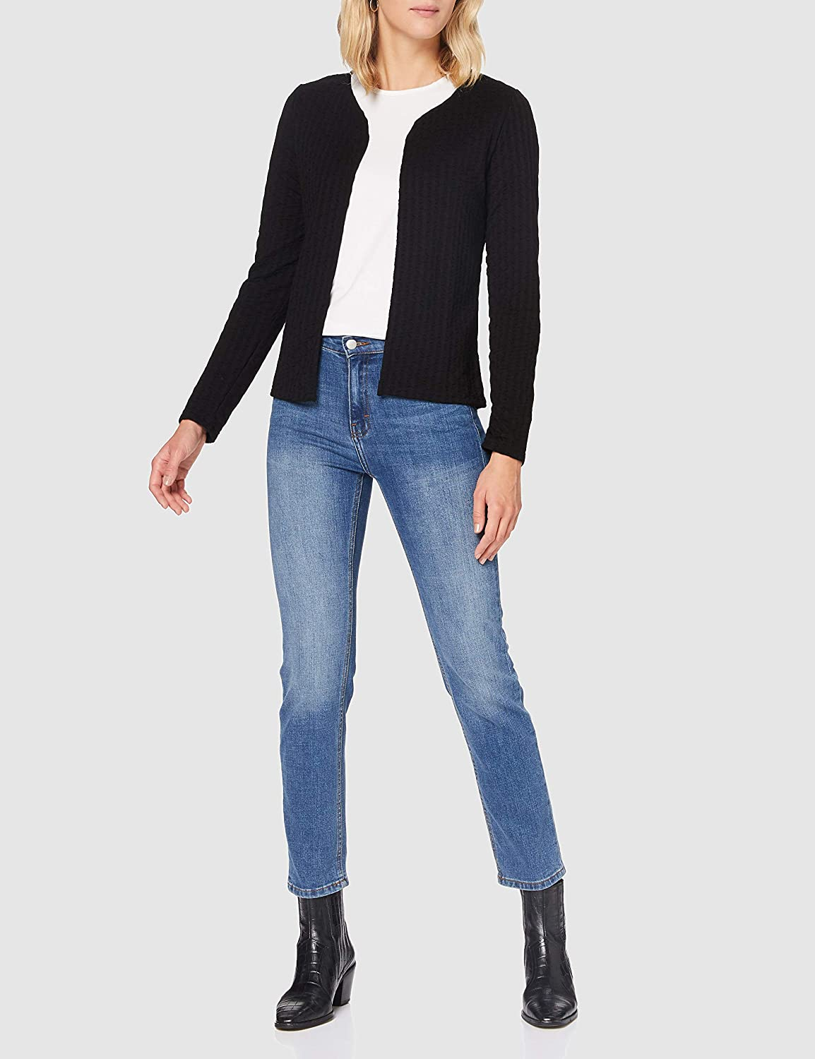 Only Onlrandy L//S Cardigan Jrs Maglione Donna