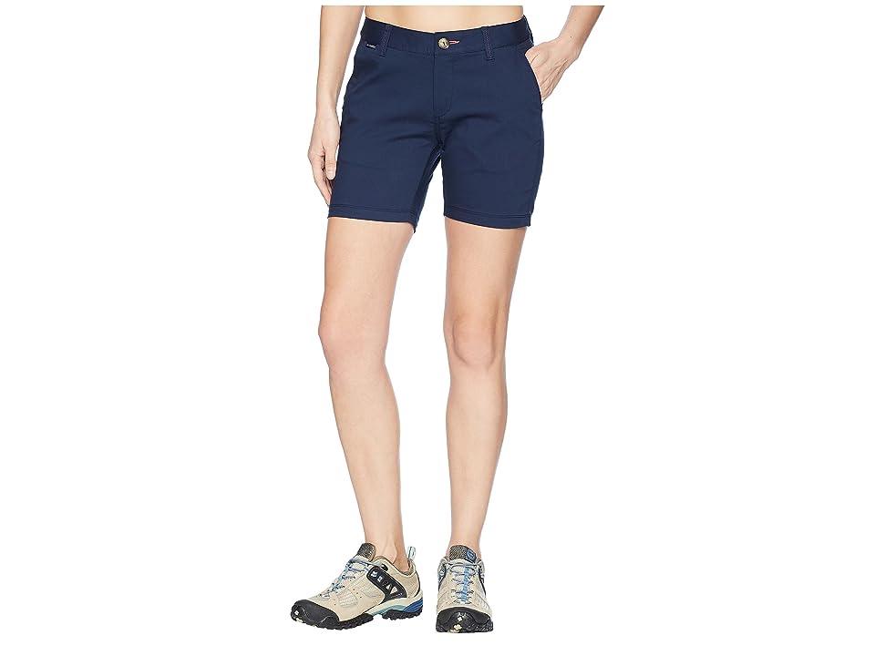 Columbia Harborside Shorts (Collegiate Navy/Sunset Red) Women