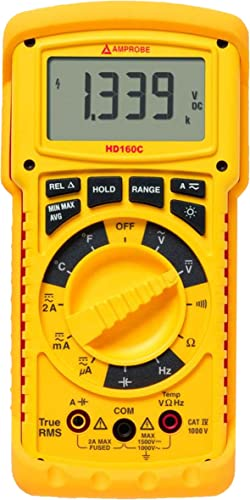 high quality Amprobe HD160C new arrival Heavy Duty TRMS discount Multimeter with Temperature online