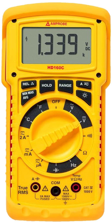 Amprobe HD160C Heavy Duty Direct store with Temperature Multimeter Oakland Mall TRMS