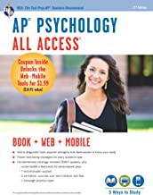 AP® Psychology All Access Book + Online + Mobile (Advanced Placement (AP) All Access)