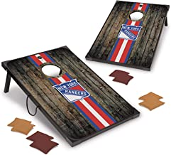 NHL Pro Ice Hockey 2' x 3' MDF Wood Deluxe Set by Wild Sports, Comes with 8 Bean Bags - Perfect for Tailgate, Outdoor, Bac...