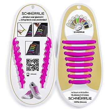 12x Easy No Tie Silikon Schnürsenkel Schnürsenkel Für Erwachsene Kinder