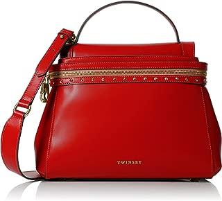 Borsa donna Shopping intrecciata TWIN SET AS67M4 Arancio