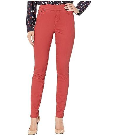 Jag Jeans Maya Skinny Pull-On Jeans in Elite Colored Denim (Redwood) Women