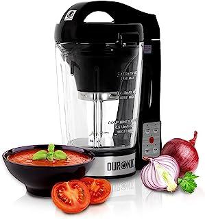 Duronic BL78 Blender chauffant à soupe en verre transparent – Créez vos soupes et gaspachos par simple pression d'une touc...