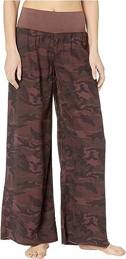 Flat Waist Full Leg Pants
