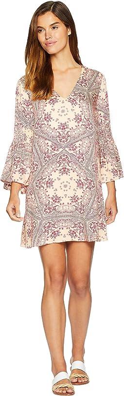 Zara Flare Sleeve Dress