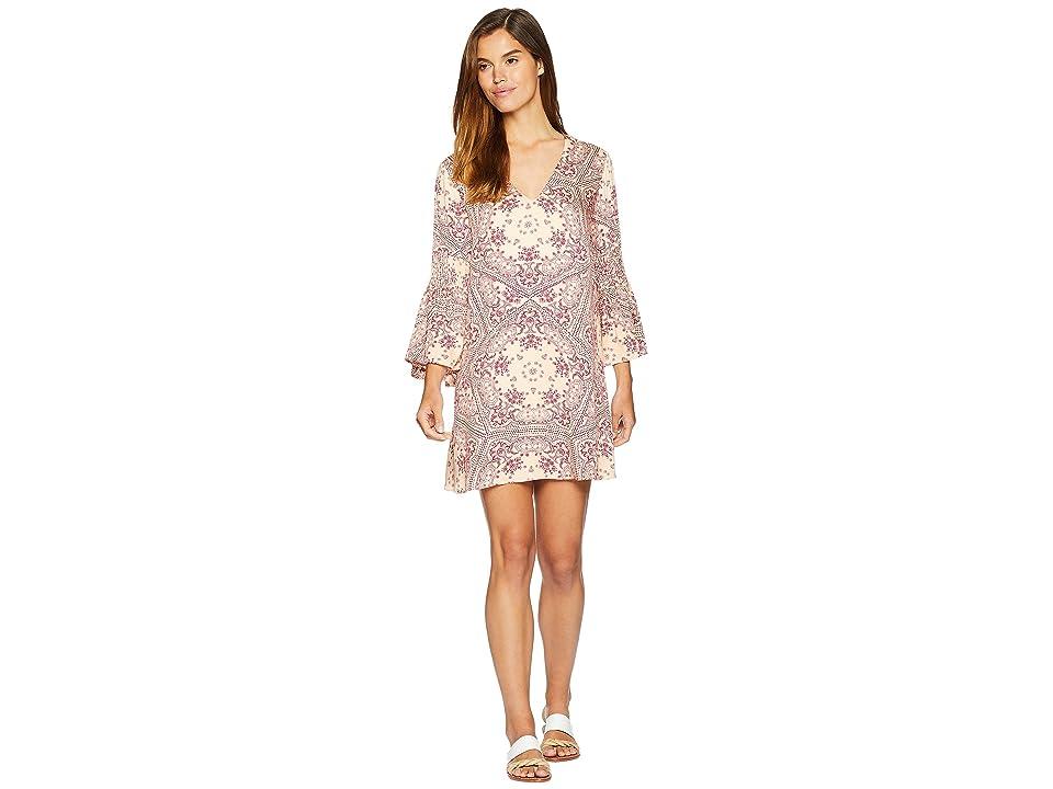 MINKPINK Zara Flare Sleeve Dress (Multi) Women