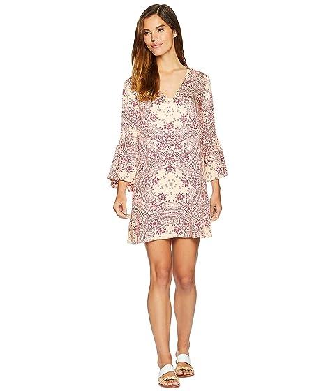 Zara Flare Sleeve Dress, Multi
