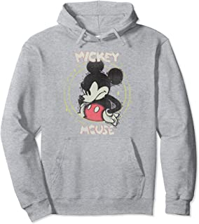 Disney Mickey And Friends Mickey Mouse Static Portrait Sweat à Capuche