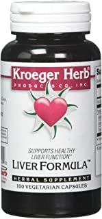 Kroeger Herb Liver Formula Combinations, 100 Count