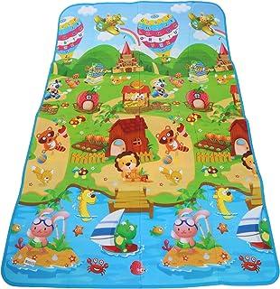 Kids Floor Carpet Double Face Waterproof Size 120*180 cm, 154-2