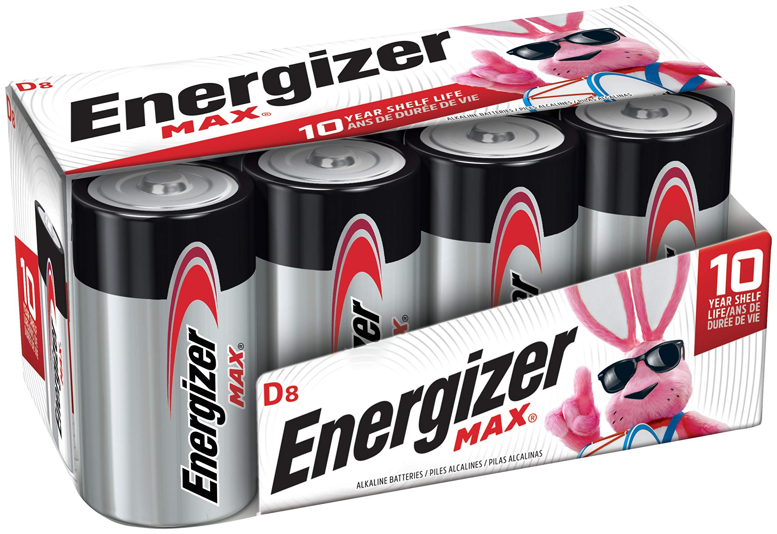 Energizer Batteries Alkaline Battery Count