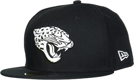 68227431 New Era Hommes 59FIFTY Fitted League Basic Jacksonville Jaguars Nfl  Casquette Noir Black