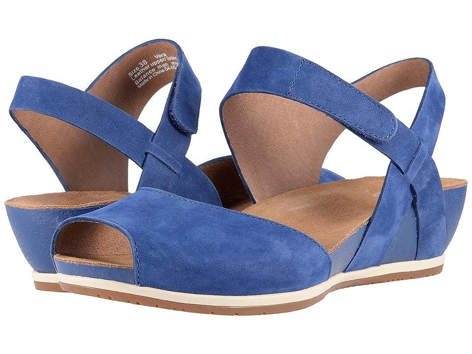 Dansko Vera (Blue Milled Nubuck) Women