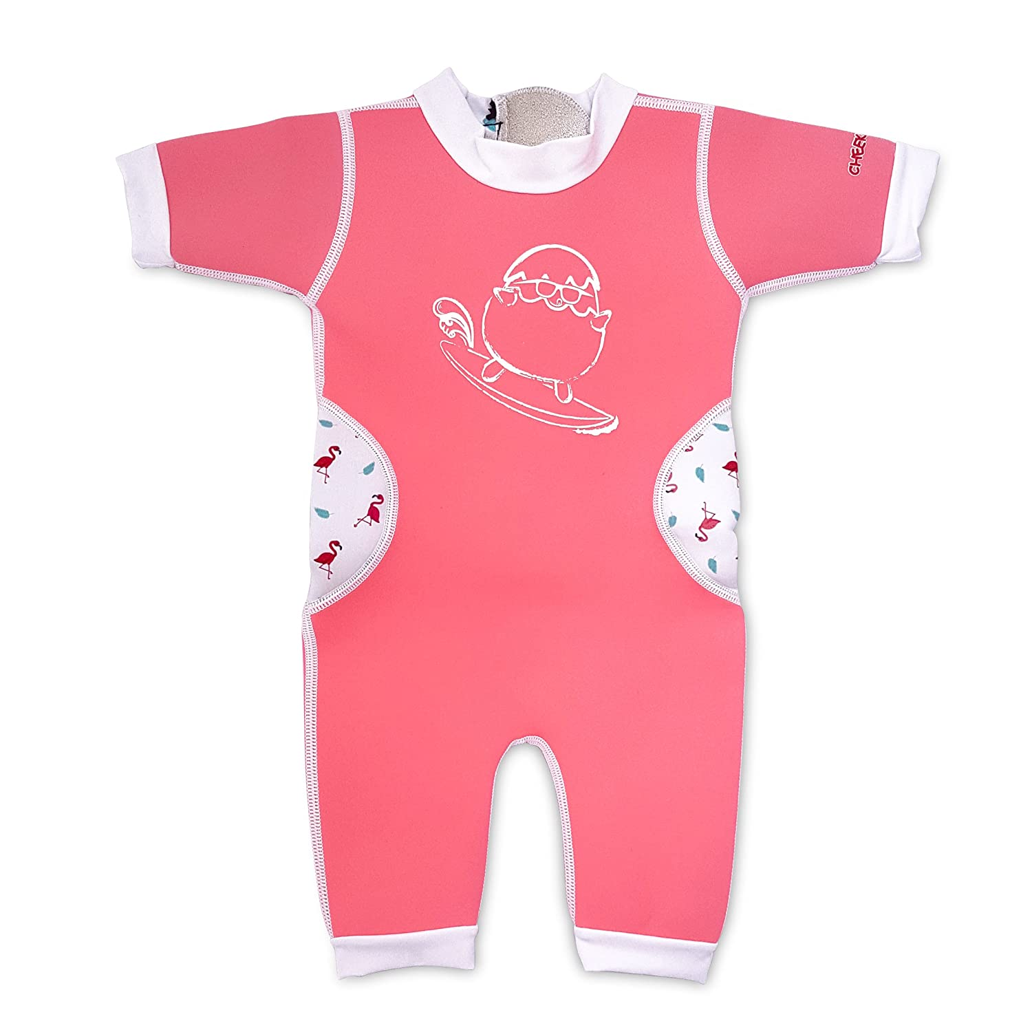 6-48 Months Cheekaaboo Warmiebabes Baby /& Kids One Piece Swimsuit for Boys and Girls
