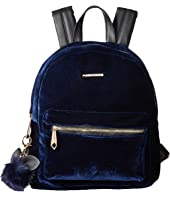 Rampage - Midi Velvet Backpack