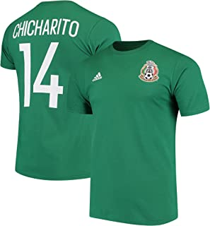 b261b1a0733 adidas Chicharito Hernandez Mexico World Cup Men s Green Name and Number T- Shirt