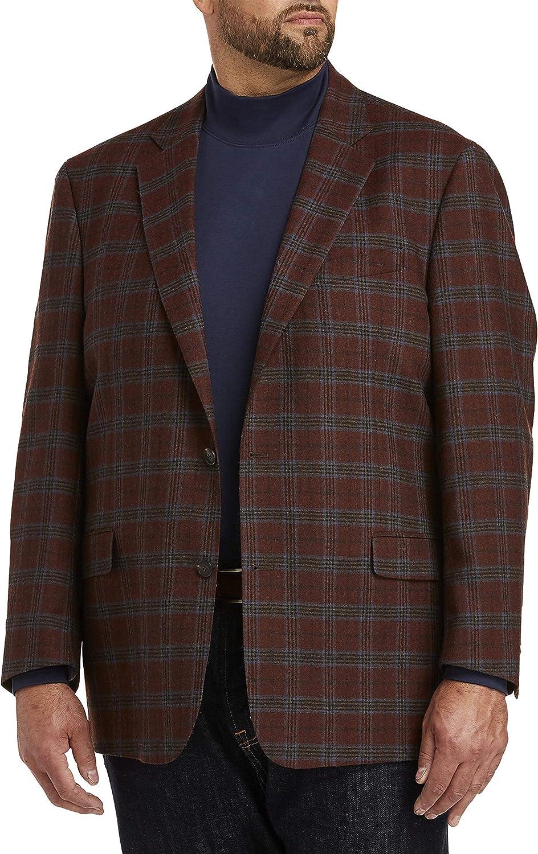 Cole Haan Windowpane Sport Coat, Brown