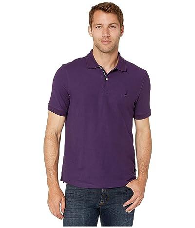 Nautica Solid FCA Deck Shirt (Purple) Men