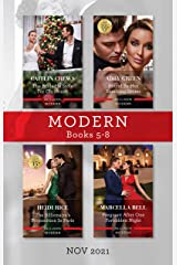 Modern Box Set 5-8 Nov 2021/The Bride He Stole for Christmas/Bound by Her Shocking Secret/The Billionaire's Proposition in Paris/Pregnant Aft Kindle Edition