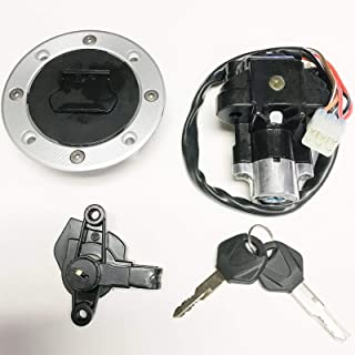 Ignition Switch Gas Cap Cover Key Set Suzuki Bandit 600 1200 GSF600S GSF1200