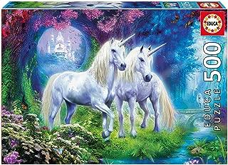 Educa 500 Pc Unicorns in the Forest Puzzle