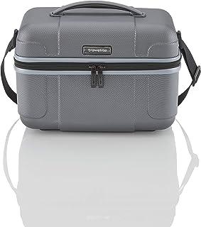 """Valigie """"VECTOR"""": robusti trolley rigidi e beauty case in 4 colori di tendenza, grigio (antracite)"""