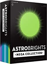 "Astrobrights Mega Collection, Colored Cardstock,""Frosty"" 5-Color Assortment, 320 Sheets, 65 lb/176 gsm, 8.5"" x 11"" (91689)"