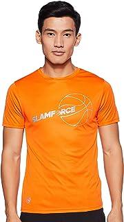 Nivia 2280-1 Nitro-4 Polyester Casual Round T-Shirt, M (Orange)
