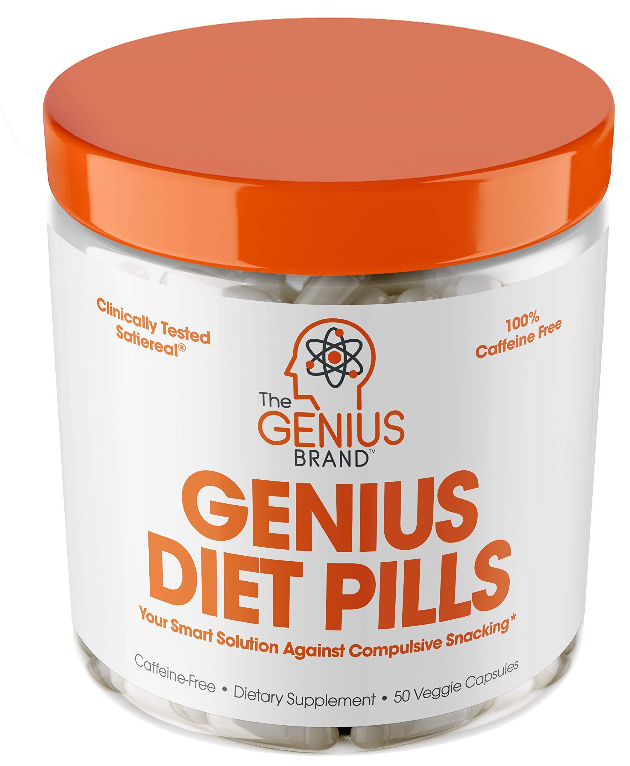 GENIUS DIET PILLS Suppressant Supplement