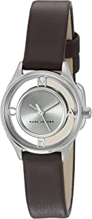 Marc Jacobs Women's Black Dial Rubber Band Watch - MJ1461
