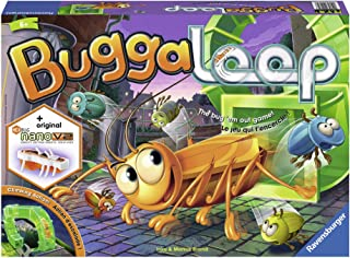 Ravensburger 21174 Buggaloop Board Game for Age 6 & Up - an Exciting Game Featuring Real-Time Moving Hexbug