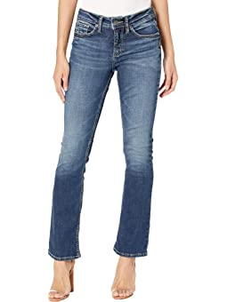 Womens Ode to 80s High Rise Skinny Silver Jeans Co