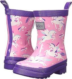 Rainbow Unicorns Rain Boots (Toddler/Little Kid)