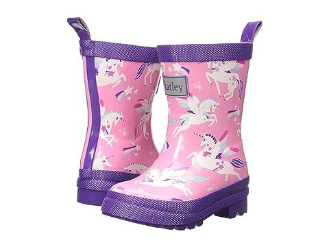 Hatley Kids Rainbow Unicorns Rain Boots Toddler Little