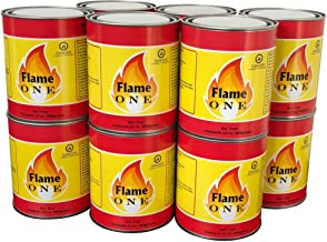 Flame One Premium Gel Fireplace Fuel in 13-Ounce Cans (12 Pack)