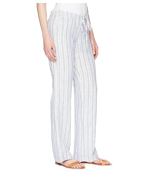 Allen raya Allen pantalones blancos largos rgrOwz