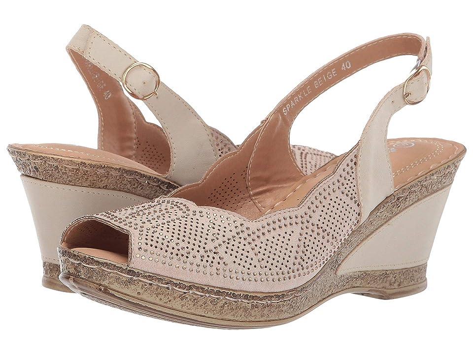 PATRIZIA Sparkle (Beige) Women's Shoes