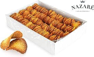 Surtido de Dulces Galletas Crujientes de almendra y mantequilla - Tejas de Almendra - Nazaré Hojaldrería - 225 Unidades 1600 gr.