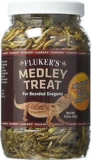 Fluker`s 72023 Bearded Dragon Medley Reptile Treat, 3.2oz
