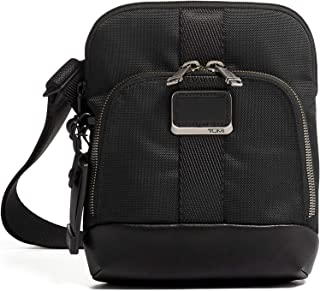 TUMI - Alpha Bravo Barksdale Crossbody Bag - Satchel for Men and Women - Black