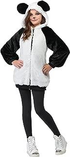 Girls Panda Hooded Jacket Costume