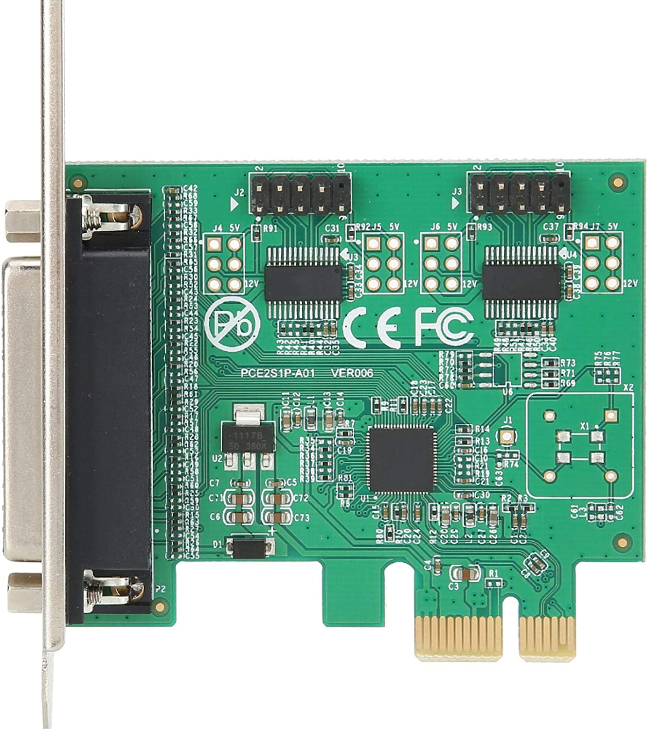 PCI-E to 2 Serial 1 Parallel Port Printer Card Expansion Converter Adapter 2S1P,Quality Computer Accessories